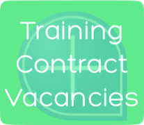 Training Contract Vacancies